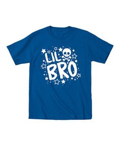 Loving this Royal Blue 'Lil Bro' Tee - Toddler & Boys on #zulily! #zulilyfinds