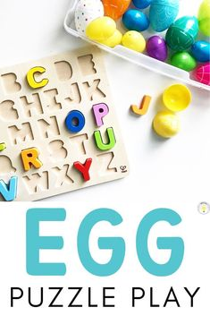 Need ideas for hands on plastic egg activities for April? Check out these fun and engaging Easter egg activities that promote basic skills and fine motor development in kids from toddler, preschool, s Easter Activities For Preschool, Toddler Learning Activities, Spring Activities, Kindergarten Activities, Toddler Preschool, Preschool Lessons, Toddler Fun, Sensory Activities, Easter Egg Crafts