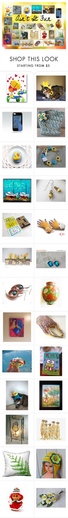 """""""Ain't It Fun: Handmade Etsy Gifts for All"""" by paulinemcewen ❤ liked on Polyvore featuring Miele and rustic"""