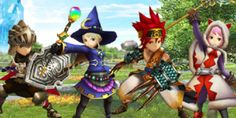 Final Fantasy Explorers gameplay footage - Warrior, Black Mage, and Monk classes. #Nintendo #3DS #Final #Fantasy #Explorers #Gaming #News