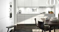 Kjøkken – VOXTORP - IKEA Voxtorp Ikea, Hana, Building A House, Kitchens, Inspiration, Interior, Table, Room, Furniture