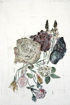 Kiki Smith, etching, aquatint and drypoint