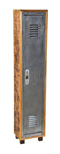 repurpose vintage locker, repurposed, transformed, rustic, industrial, furniture, diy ideas, cabinet, storage, shelves
