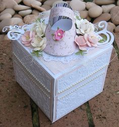 Couture Creations: Baby Keepsake Exploding Box by Jo Piccirilli | Couture…