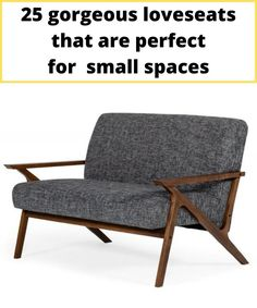 Small retro style grey sofa