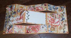 BaRb'n'ShEllcreations - Glitz - Yours Truly Floral - Tri-fold Birthday Card - made by Shell