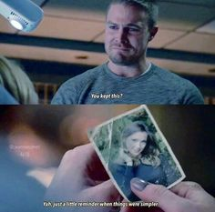 """#Arrow 4x18 """"Eleven-Fifty-Nine"""" - Oliver and Laurel"""