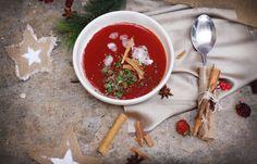 Sopa navideña echa con MioMat. Food, Soups, Veggies, Meal, Essen, Hoods, Meals, Eten