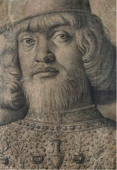Francesco Gonzaga, Marquis of Mantua, attributed Francesco Bonsignori,1495, currently at the Dublin, National Gallery of Ireland. Husband of Isabella d'Este.