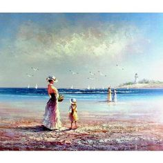Summer Day - Hand Signed Oil Painting