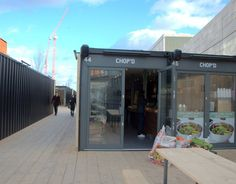 60 Recycled Shipping Containers Transformed into London's Boxpark Shopping Mall : TreeHugger