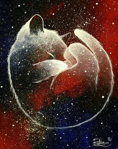 GALAXY CAT - Raphaël VAVASSEUR - Peinture Originale, Original Painting and like OMG! get some yourself some pawtastic adorable cat apparel Art Galaxie, Galaxy Cat, Warrior Cats, Cat Drawing, Drawing Ideas, Cat Love, Crazy Cats, Animal Drawings, Cat Art