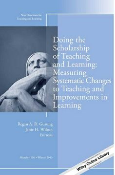 Doing the scholarship of teaching and learning : measuring systematic changes to teaching and improvements in learning / Regan A.R. Gurung, Janie H. Wilson, editors