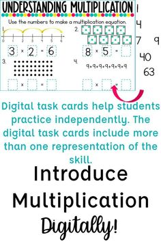 Multiplication Strategies, Teaching Multiplication, Teaching Math, Teaching Boys, Maths, Math Teacher, Math Classroom, Google Classroom, Math Words