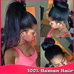 Find More Human Wigs Information about High Ponytail Glueless Full lace wigs with Baby hair Virgin Peruvian hair Silky Straight Human hair full lace wig Bleached Knots,High Quality wig shop,China wig lace front Suppliers, Cheap lace wig with baby hair from Top-level beauty sense human hair on Aliexpress.com