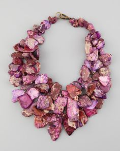Jasper Chunky Necklace by Nest at Neiman Marcus.