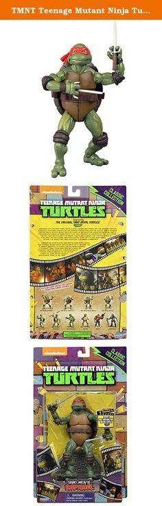 TMNT Teenage Mutant Ninja Turtles 6.5 inches classic figure 1990 movie series Raphael / TEENAGE MUTANT NINJA TURTLES CLASSICS 1990 MOVIE RAPHAEL. It's shipped off from Japan.