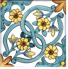 "Italian #handpainted #pottery - Ceramica ""Il Pozzo"", #Salerno #Italy"