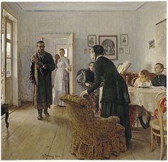 Books and Art Ilya Repin, Russian Painting, Russian Art, Art Ancien, Art Diary, Classic Paintings, Wassily Kandinsky, Art Reproductions, Art World