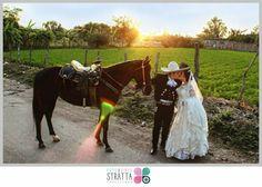 Charro caballo boda mexicana