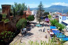 uta el-hammam (town square) - chefchaouen, morocco