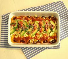 Hovězí Enchiladas s avokádem a salsou  http://www.naskokvkuchyni.cz/hovezi-enchiladas-s-avokadem-a-salsou/