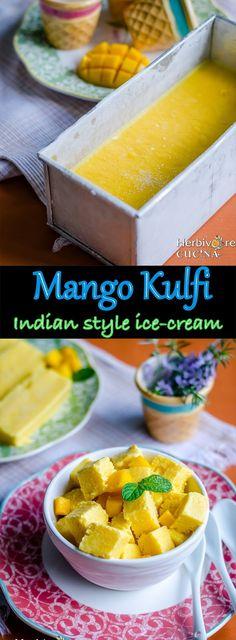 Mango Kulfi   Indian Ice Cream