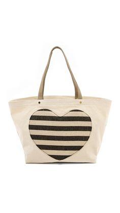 Lovetote Large Heart Shopper