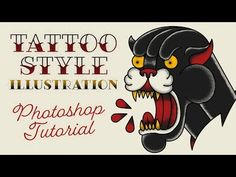 Video Tutorial: Tattoo Style Illustration Effect in Photoshop