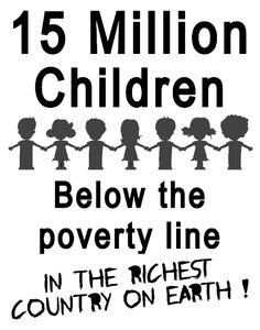 Children below the poverty line
