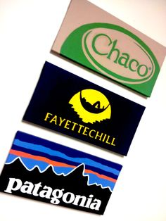 Chaco ~ Fayettechill ~ Patagonia  canvas set