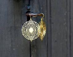 Universe-earrings by Milanka Design Earrings Photo, Art Deco Earrings, Tribal Earrings, Chandelier Earrings, Statement Earrings, Drop Earrings, Stainless Steel Earrings, Beautiful Earrings, Jewelry Collection