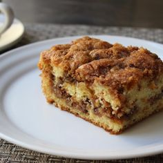 """Pecan Sour Cream Coffee Cake 
