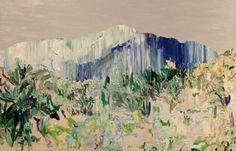 MASANORI HANDA Mount Athos 3, 2013 Oil on canvas 25 3/5 × 39 2/5 in 65 × 100 cm