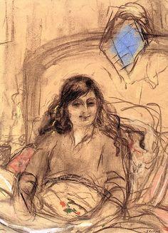 Portrait of the Comtesse Anna de Noailles Edouard Vuillard - circa 1931