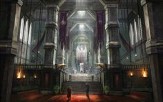 Gallery Of Concept Art From Dragon Age: Inquisition Concept Art Books, Fantasy Concept Art, Fantasy City, Fantasy World, Dwarven City, Dwarf Fortress, Science Fiction, Dragon Age Inquisition, Layout