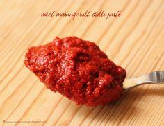 Ruchik Randhap (Delicious Cooking): Meet Mirsang/Puli Munchi (Salt & Chilli Paste)