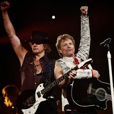 Richie & Jon: Rock on!