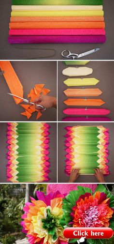Crepe Paper Flowers  Crepe Paper Flowers  The post Crepe Paper Flowers appeared first on Paper ideas.