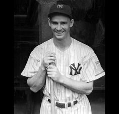 "Joe ""Flash"" Gordon - Sigma Chi Alumnus from Oregon, 1936 - 2nd baseman from 1938-1950 for the New York Yankees and Cleveland Indians. 1942 American League MVP. 5 time World Series Champion. 9 time All-Star. Manager of Indians, Tigers, A's and Royals. Member of the Baseball Hall of Fame."