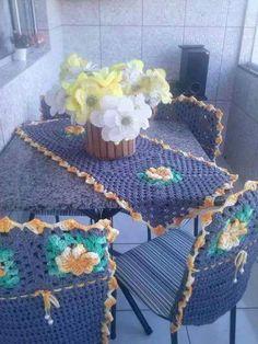 crochet table cloth designs