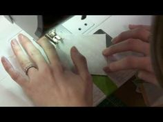 Discover the Frog Tape Trick for Making Half-Square Triangles with Camille Roskelley