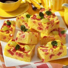 Túrós-rebarbarás sütemény Recept képpel -   Mindmegette.hu - Receptek