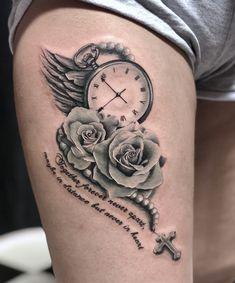 tattoo_wien tattoo tattoo – Everything for Tattoo Stop Watch Tattoo, Watch Tattoos, Up Tattoos, Finger Tattoos, Body Art Tattoos, Small Tattoos, Celtic Tattoos, Rose Tattoos, Flower Hip Tattoos