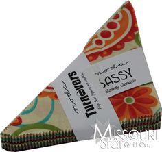 Sassy Turnover by Sandy Gervais for Moda Fabrics