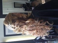 Wedding hair take 2!! This is what it will look like on the big day!! :) #WeddingHair