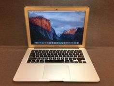 "Apple MacBook Air A1466 13.3"" Laptop MD231LL/A (June 2012) 1.8GHz i5 4GB 128GB"