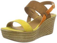 Tamaris 28364 Damen Plateau Sandalen mit Keilabsatz: Amazon.de: Schuhe & Handtaschen