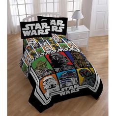 Star Wars Classic Sheet Set $29.11 twin ($29.88 for full) (polyester - look for a cotton version!)