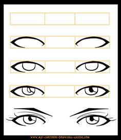 How to Draw Anime Eyes 2 by ~LeQueen